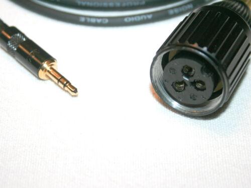 DAT Digitalrekorder MIKROFONKABEL Großtuchel 3,5mm Klinkenstecker für MD