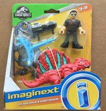 Fisher Imaginext Jurassic World Dr Malcolm /& Dimetrodon FPX88 for sale online