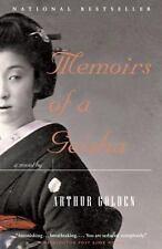 Memoirs of a Geisha: A Novel - Acceptable - Golden, Arthur - Paperback