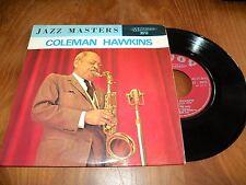 45 tours  JAZZ MASTER  COLEMAN HAWKINS  savoy-musidisc 3013