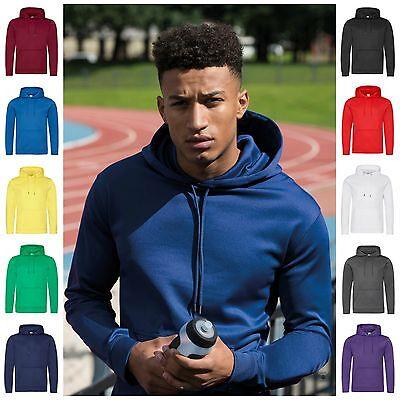 Mens Long Sleeve Hoodie Running Training Sports Gym Hooded Top Hoody Slim Fit