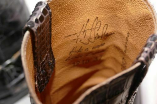 083---Sendra Boots Bikerstiefel Gr 37 neuwertig Schwarzes Leder