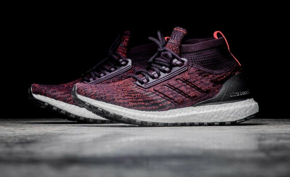 Adidas Ultra Boost ATR Mid Burgundy Comfortable