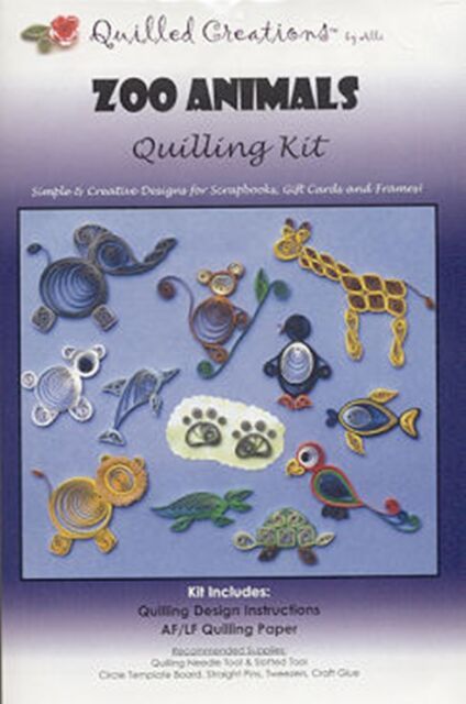Quilled Creations Q40-10 Under The Sea Quilling Kit