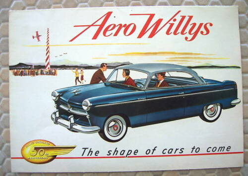 WILLYS ACE LARK FALCON EAGLE 50th ANNIVERSARY BROCHURE USA EDITION