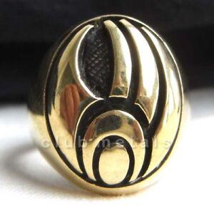 STAR-TREK-BORG-ASSIMILATION-BRONZE-RING-Men-039-s-Power-Jewelry-Hopi-Bear-Claw