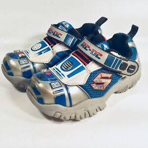 7f2ce283b0c95 Image is loading SKECHERS-R2D2-Star-Wars-Shoes-Boys-Little-Kids-