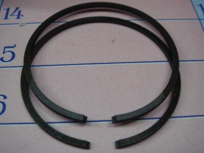 2 Fasce Elastiche Segmenti Pistone Polini Mm 43,8 X 1,5 Cod. 206.0108 Merci Di Alta Qualità