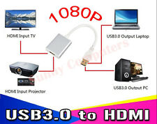 Top Grade USB 3.0 To HDMI Adapter Converter For HDTV Laptop Notebook PC 1080P HD