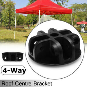 4-Way-Roof-Centre-Bracket-Replacement-Tent-Spare-Parts-Connector-For-Gazebo-N-N