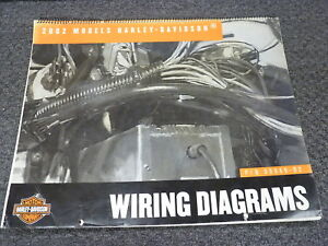2002 Harley Davidson Electra Glide Road King Electrical Wiring Diagram  Manual | eBayeBay