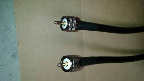 US MADE  LMR-400  2FT    PL259  to   PL259   COAX CABLE CB,HAM,SCANNER