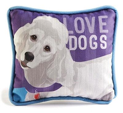Poodle Decorative Dog Pillow 9×8