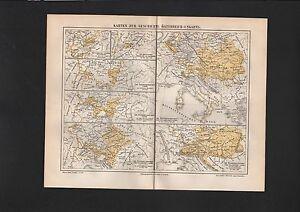 Objectif Carte Map 1897: Cartes Sur L'histoire Autriche-hongrie.-arns. Fr-fr Afficher Le Titre D'origine