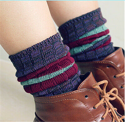 2015 Women's Boots Socks High StockingsWinter Knitted Socks  Ancient Retro Style