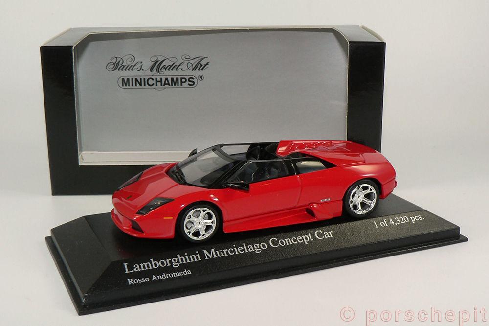 Minichamps 1 43 Lamborghini Murcielago Murcielago Murcielago Concept Car red f70cc9