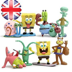 8pcs-SpongeBob-SquarePants-TV-Action-Figures-Cake-Toppers-Doll-Set-Kids-Toy-Gift