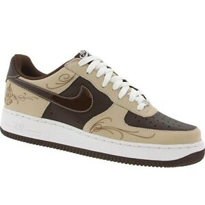 size 40 c26a9 5326b Details about 307334-221 Nike Air Force 1 Low (Mr Cartoon - Brown Pride  Edition)