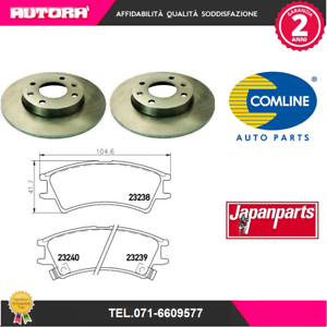 KIT54-2-Disco-freno-kit-pastiglie-freno-Hyundai-Atos-MARCA-COMLINE-JAPANPARTS