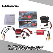 S2838 4500KV Brushless Motor 35A ESC 3.5kg Servo Combo for 1/12 1/14 RC Car B3U8