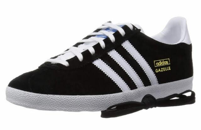 adidas Originals Gazelle OG Black White Mens Retro Casual Shoes SNEAKERS G13265 UK 10