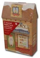 Bakery Keepsake Assortment - Box Of 21 Christmas Cards By Paper Magic