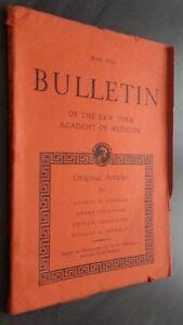 Notiziario Of I York Academy Of Medicina May 1951 ABE