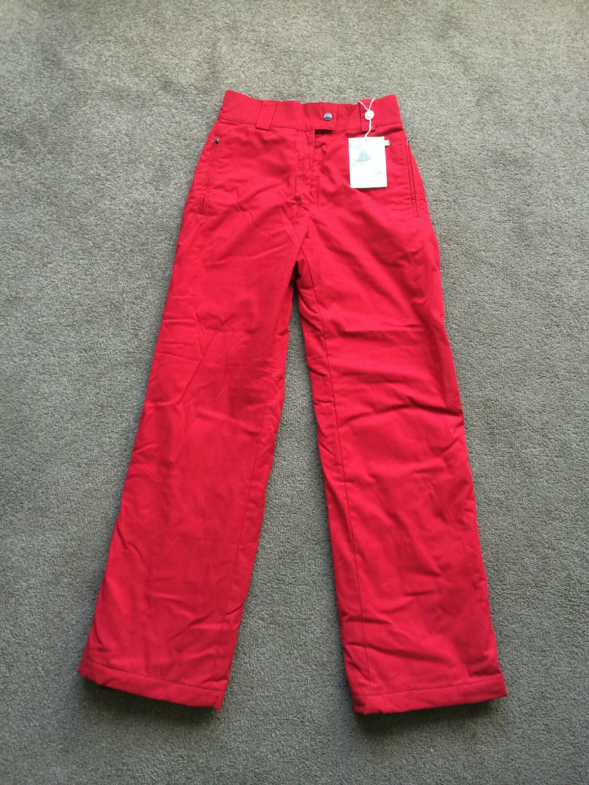 VAMPIRE 1950 SKI   SNOWBOARD INSULATED PANTS Sz 42 IT S US MADE IN ITALY NWT