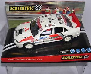 "Careful Scalextric 6000 Mitsubishi Lancer ""costa Brava"" Error Pad Printing Mb Kinderrennbahnen Spielzeug"