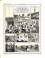 Téléphones Télégraphes Télégraphie sans Fil Central Téléphonique Phones 1916 WWI