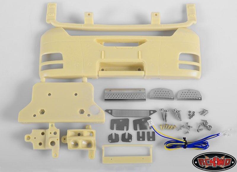 RC4WD Front Bumper Assembly Kit for Tamiya 1 14 Man TGX RC4Z-C0053
