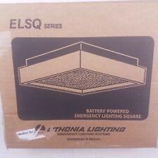 Lithonia Lighting Elsqm Square Battery Powered Emergency Lighting 120277