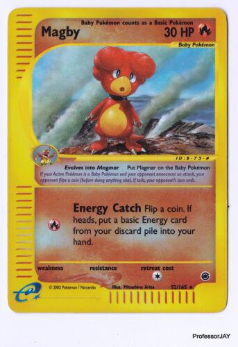 Expedition Aquapolis E-READER Skyridge Pokemon Cards H-Series CRYSTAL