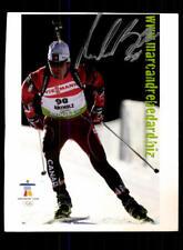 Marc Andre Bedard Autogrammkarte Original Signiert Biathlon + A 176142