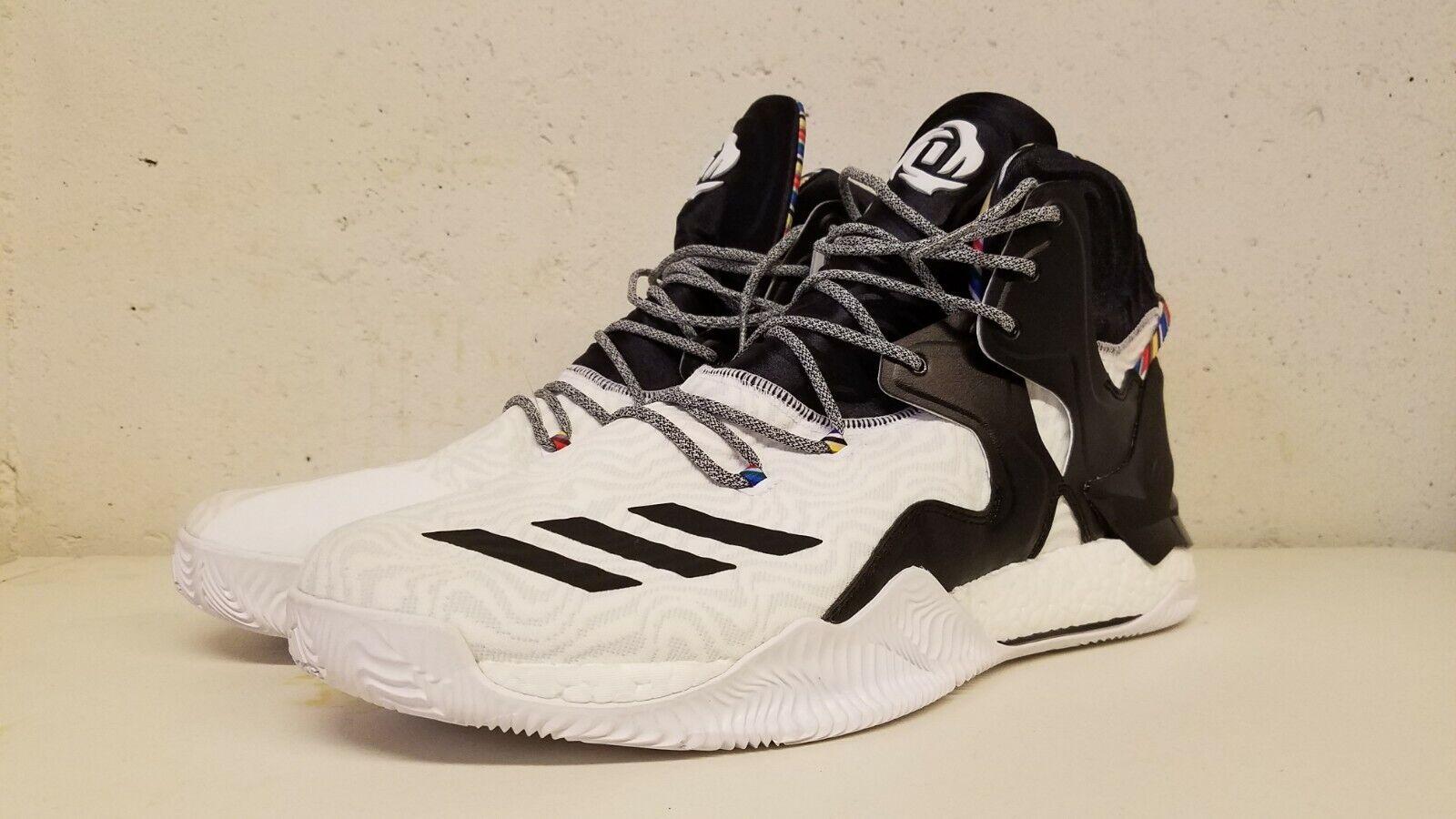 Adidas Derrick pink 7 Arthur Ashe Deadstock Size 17 BY3475 Basketball Hightop