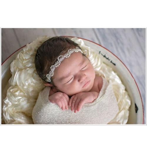 Baby Pearl Headband Newborn Kids Baby Girls Headwear Accessories Photo props YH