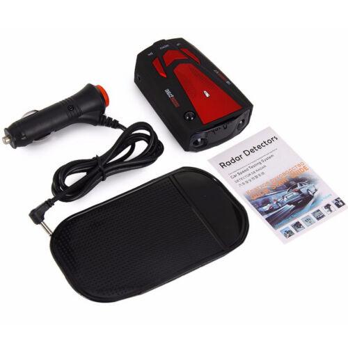 Universal Red Electronic Dog Portable Speed Measuring Radar Car GPS Detector