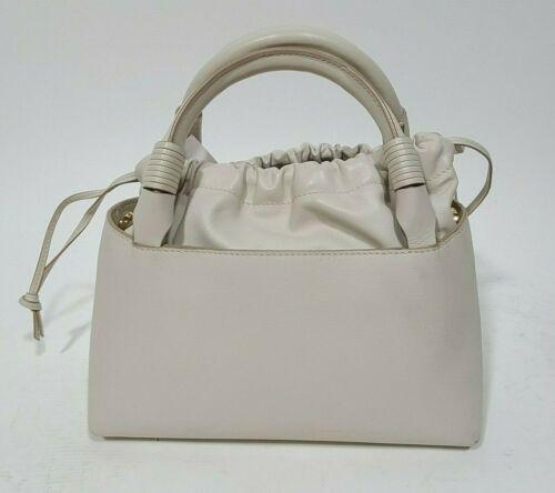 CAROLINA SANTO DOMINGO White Leather Sirena Mini B