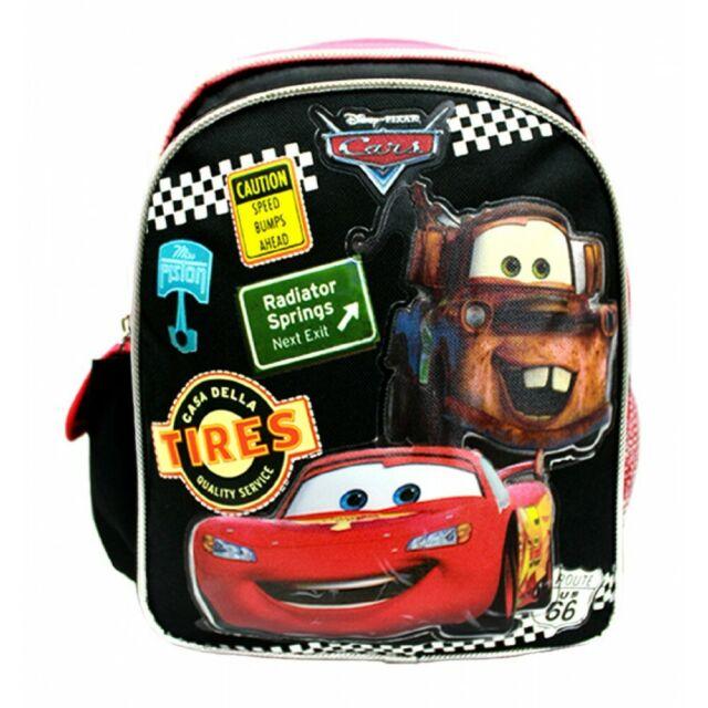 Black Boys/' Backpack TradeMark DISNEY CARS 2 Red