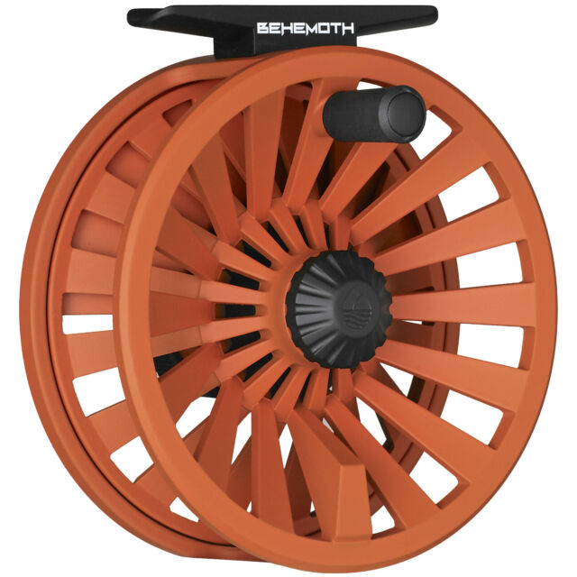 NEW REDINGTON BEHEMOTH REEL 5//6 WT GUN METAL fly fishing large arbor premium