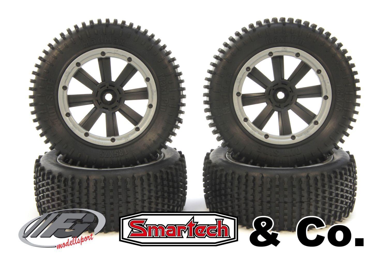 MadMax MAXI PIN PNEUMATICI PER FG/Smartech & Co  18mm quadrangolare  - y1445/01 - Tires