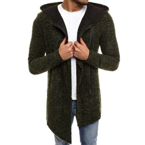 Strickpullover Kapuzenpullover Pullover Sweater Pulli Herren OZONEE 3478 MIX ★