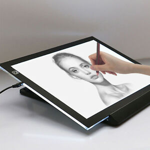 Digital Tablets Sporting Newest Led Graphic Tablet Writing Painting Light Box Tracing Board Copy Pads Digital Drawing Tablet A4 Copy Table Led Board