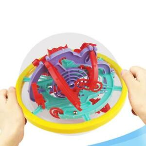 3D-Space-Intellect-Ball-100-Barriers-Balance-Puzzle-Ball-Maze-Layout-Game-Toy