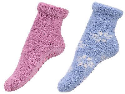ODN 1 pair Women Girls Bed Socks Fluffy Warm Winter Soft Floor Socks
