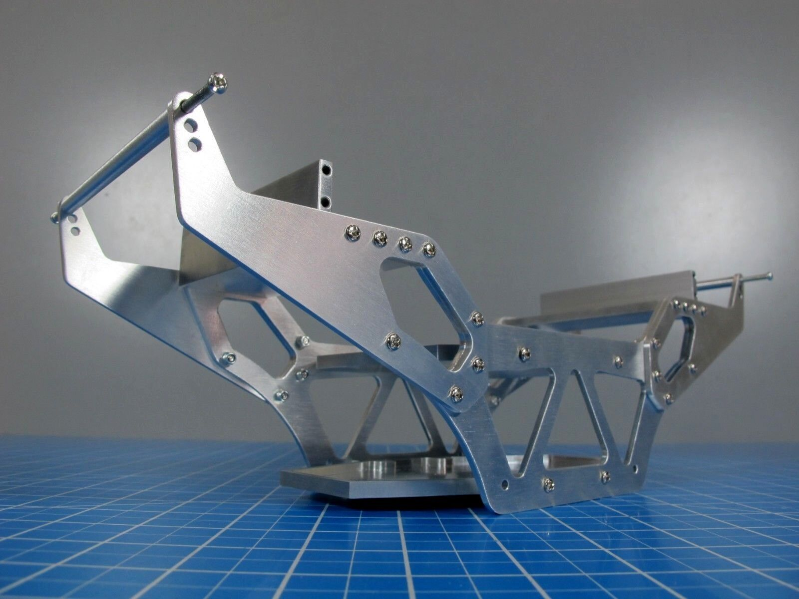 R/C Aluminium Chassis for Tamiya Super Clod Bluster Clodbuster Bullhead Crawler