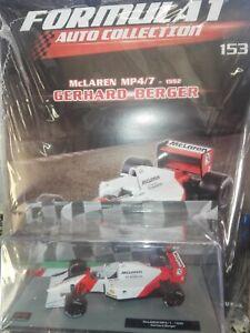 McLAREN-MP4-7-1992-GERHARD-BERGER-FORMULA1-AUTO-C-1-43-153-MIB-DIE-CAST