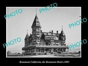 OLD-LARGE-HISTORIC-PHOTO-OF-BEAUMONT-CALIFORNIA-VIEW-OF-THE-BEAUMONT-HOTEL-1895