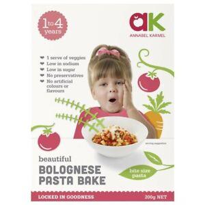 Annabel Karmel Meals Bolognaise Pasta Bake 200g