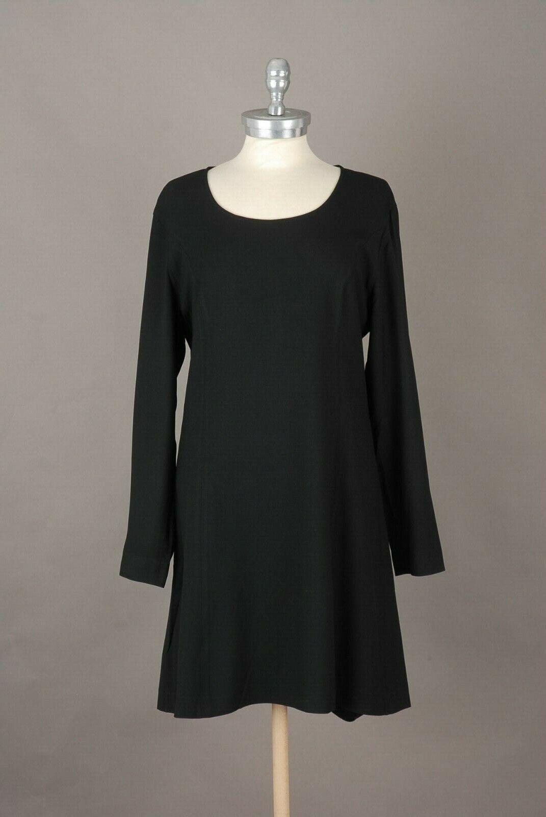 2908   CLAUDE MONTANA   Vintage DaMänner Kleid   Größe 38 (Italienische 42)